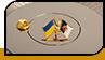 "Значок ""Україна і Алжир"""