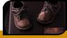 Бронзоване перше дитяче взуття