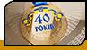 """Медаль """"40 років"""""""