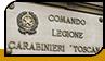 "Табличка ""Carabinieri Toscana"""