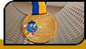 """Медаль для дитячого садка """"Горобинка"""""""