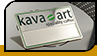 """Бейдж """"Kava art"""""""