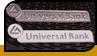 """Шильди """"Universal Bank"""""""